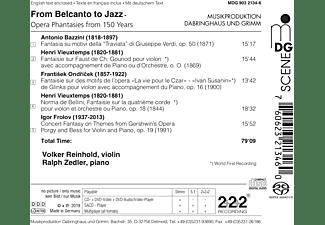 Volker Reinhold, Ralph Zedler - Opernphantasien für Violine und Klavier  - (SACD Hybrid)