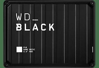 WD BLACK P10 Game Drive 5 TB, 2,5 Zoll, Gaming-Festplatte, Schwarz