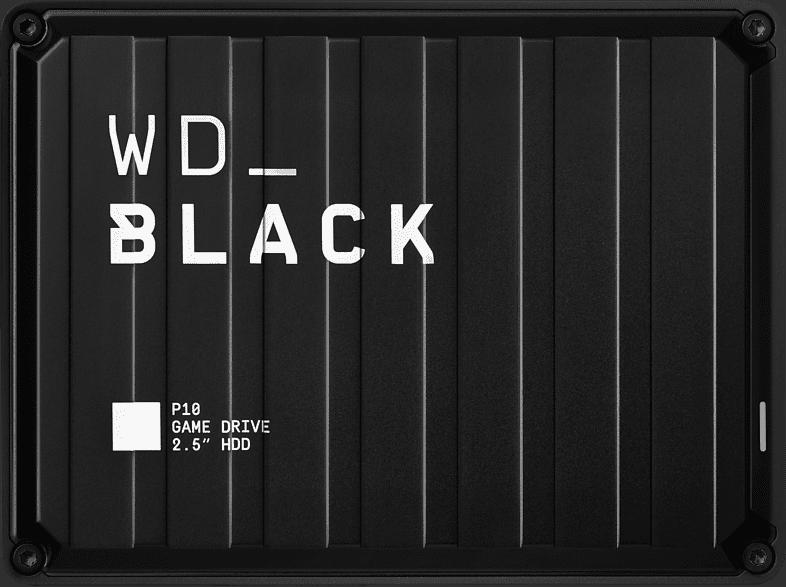 WD Black P10 Game Drive Externe Festplatte 2 TB, 2,5 Zoll , Gaming-Festplatte, Schwarz