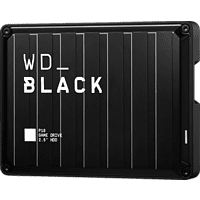 WD Black P10 Game Drive Externe Festplatte 4 TB, 2,5 Zoll, Gaming-Festplatte, Schwarz