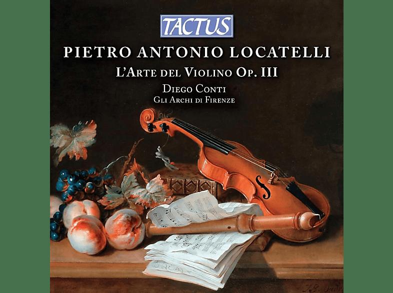Gli Archi Di Firenze, Diego Conti - L'Arte del Violino Op.III [CD]