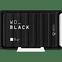 WD Black D10 Game Drive für Xbox One Externe Festplatte 12 TB, 3,5 Zoll, Gaming-Festplatte, Schwarz
