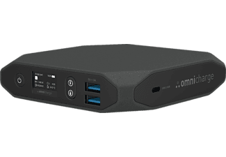 OMNICHARGE Omni 20+ USB-C, 20.000 mAh, 70 Wh Powerbank 20.000 mAh, 70 Wh Schwarz