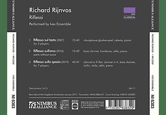 Ives Ensemble - Riflessi  - (CD)