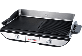 GASTROBACK 42523 Design Advanced Pro BBQ Elektrogrill, Silber/Schwarz (2300 Watt)