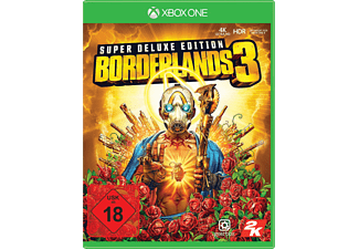 Borderlands 3 Super Deluxe Edition inkl. Steelbook Hülle für Xbox One