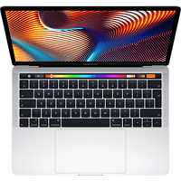 APPLE MUHQ2D/A MacBook Pro, Notebook mit 13,3 Zoll Display, Core i5 Prozessor, 8 GB RAM, 128 GB SSD, Intel Iris Plus Graphics 645, Silber