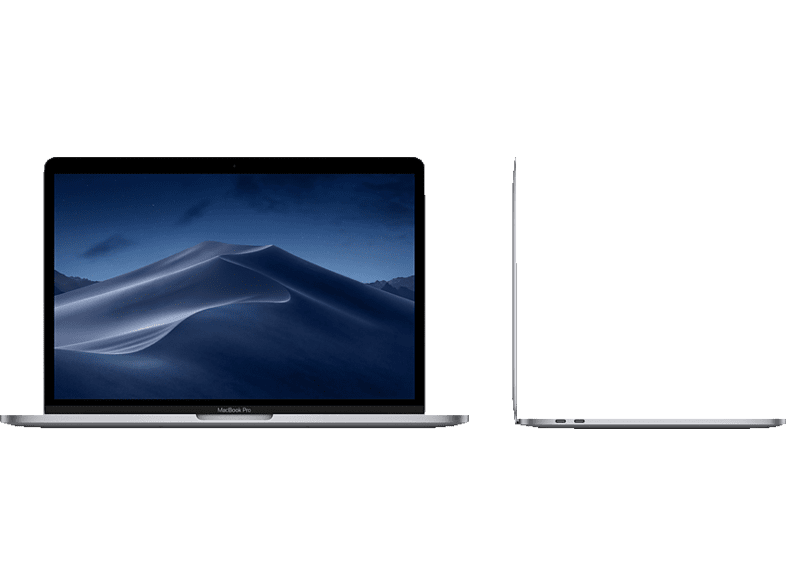 APPLE MUHN2D/A MacBook Pro, Notebook mit 13.3 Zoll Display, Core i5 Prozessor, 8 GB RAM, 128 GB SSD, Intel Iris Plus Graphics 645, Space Grau