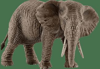 SCHLEICH Afrikanische Elefantenkuh Spielfigur Grau