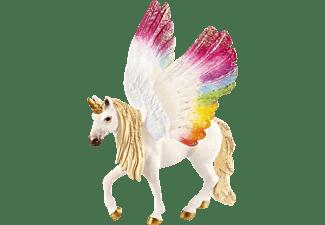 SCHLEICH Geflügeltes Regenbogeneinhorn Spielfigur Mehrfarbig