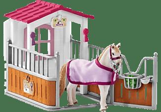 SCHLEICH HC Pferdebox mit Lusitano Stute Spielfigur Mehrfarbig