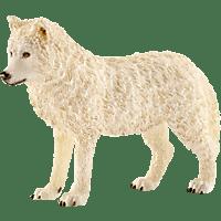 SCHLEICH Arktischer Wolf Spielfigur, Mehrfarbig