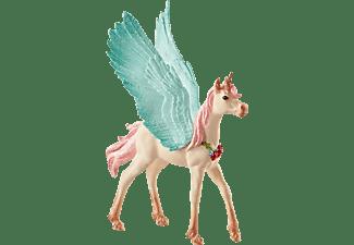 SCHLEICH Schmuckeinhorn-Pegasus, Fohlen Spielfigur Mehrfarbig