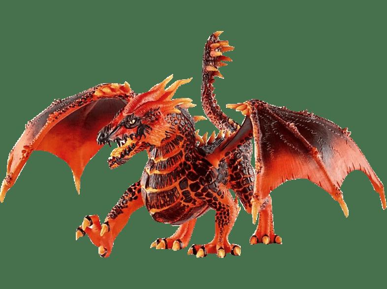 SCHLEICH Lavadrache Spielfigur, Mehrfarbig