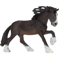 SCHLEICH Shire Hengst Spielfigur, Mehrfarbig