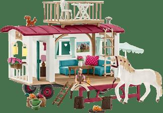 SCHLEICH HC Wohnwagen für geheime Club-Treffen Spielfigur Mehrfarbig