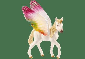 SCHLEICH Geflügeltes Regenbogeneinhorn, Fohlen Spielfigur Mehrfarbig