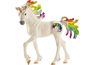 SCHLEICH Regenbogeneinhorn, Fohlen Phantasietierfigur Mehrfarbig