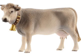 SCHLEICH Braunvieh Kuh Spielfigur Mehrfarbig