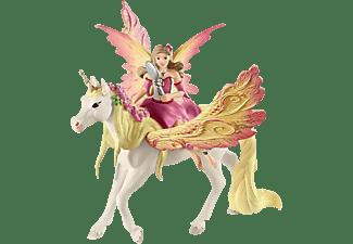 SCHLEICH Feya mit Pegasus-Einhorn Spielfigur Mehrfarbig