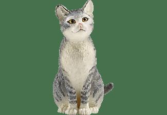 SCHLEICH Katze, sitzend Spielfigur Mehrfarbig