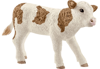 SCHLEICH Fleckvieh-Kalb Spielfigur Mehrfarbig
