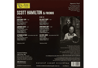Scott Hamilton - And Friends (Natural Sound Recording)  - (Vinyl)