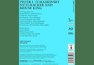 Peter Connelly, Philharmonia Zürich, Ballett Zürich - Nussknacker und Mauskönig [Blu-ray]  - (Blu-ray)