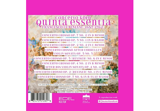 Concerto Köln - Geminiani:Quinta Essentia  - (CD)