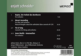 Juliana Koch, Wu Wei, Jenaer Philharmonie, Simon Gaudenz - Mozart & Beethoven Meeting Yin & Yang  - (CD)