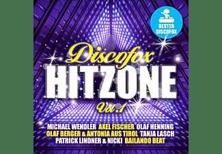 VARIOUS - Discofox Hit Zone Vol.1  - (CD)