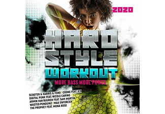 VARIOUS - Hardstyle Workout 2020-More Bass,More Power  - (CD)