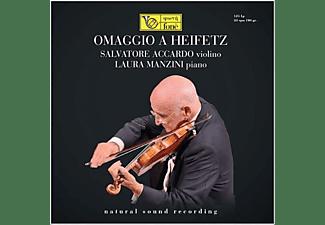 Salvatore Accardo, Laura Manzini - Omaggio A Heifez (Natural Sound Recording)  - (Vinyl)