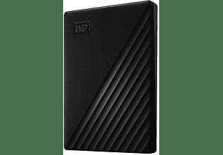 WD My Passport™ Festplatte, 1 TB HDD, 2,5 Zoll, extern, Schwarz