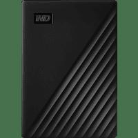 WD My Passport, 5 TB HDD, 2,5 Zoll, extern, Schwarz