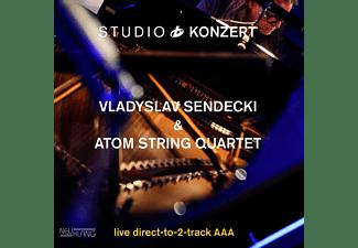 Vladyslav Sendecki, Atom String Quartet - Studio Konzert [180g Vinyl Limited Edition]  - (Vinyl)