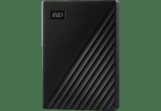 WD My Passport™ Festplatte, 4 TB HDD, 2,5 Zoll, extern, Schwarz