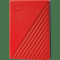 WD My Passport, 4 TB HDD, 2.5 Zoll, extern