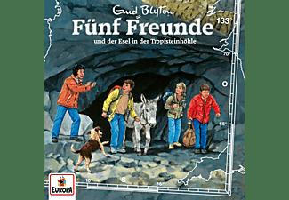 Fünf Freunde - 133/Fünf Freunde und der Esel in der Tropfsteinhöh  - (CD)