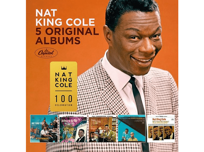 Nat King Cole - 5 Original Albums [CD]