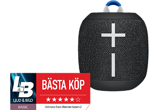 ULTIMATE EARS Wonderboom 2 - Svart