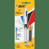 BIC 4 Colours 4 HB-Vierfarb-Kugelschreiber Vierfarbkugelschreiber