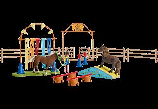 SCHLEICH Pony Agility Training Spielfigur Mehrfarbig