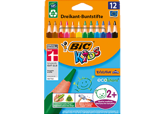 BIC Kids Evolution Triangle ECOlutions Buntstifte, Mehrfarbig