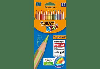 BIC Kids Evolution Stripe Buntstifte, Mehrfarbig