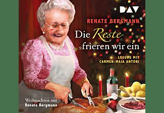 Renate Bergmann - DIE RESTE FRIEREN WIR EIN WEIHNACHTEN MIT RENATE  - (CD)