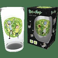 EMPIRE Rick and Morty - Portal - Glas Glas, Mehrfarbig