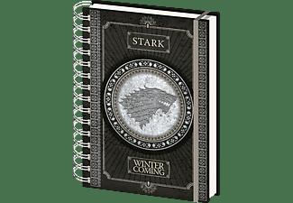 Game Of Thrones - Stark - Winter is Coming - Lizenz-Notizbuch
