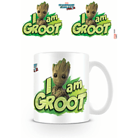 EMPIRE Guardians Of The Galaxy - Vol. 2 - I Am Groot - Lizenz Keramik-Tasse Tasse, Mehrfarbig