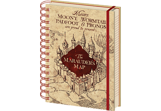 Harry Potter - The Marauders Map - Lizenz-Notizbuch